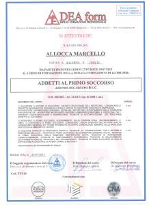Attestato PRONTO SOCCORSO001