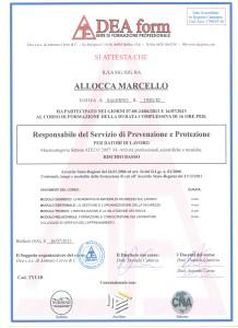 Attestato RSPP001